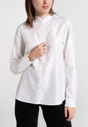 LONG SLEEVE BLOUSE 1863 BY ETERNA - PREMIUM ECRU UNI