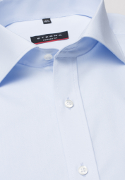 ETERNA HALF SLEEVE SHIRT MODERN FIT POPLIN LIGHT BLUE UNI