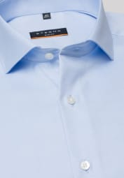 ETERNA LONG SLEEVE SHIRT SLIM FIT TWILL LIGHT BLUE UNI