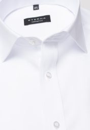 ETERNA LONG SLEEVE SHIRT COMFORT FIT POPLIN WHITE UNI