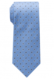 ETERNA TIE LIGHT BLUE PATTERNED