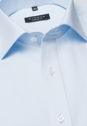ETERNA LONG SLEEVE SHIRT COMFORT FIT POPLIN LIGHT BLUE UNI