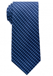 ETERNA TIE BLUE CHECKED