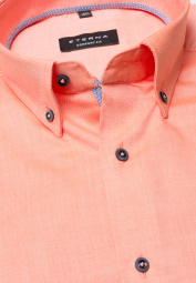 ETERNA HALF SLEEVE SHIRT COMFORT FIT OXFORD ORANGE UNI