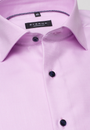 ETERNA LONG SLEEVE SHIRT COMFORT FIT TWILL ROSE STRUCTURED
