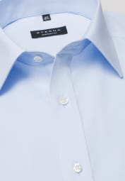 ETERNA HALF SLEEVE SHIRT COMFORT FIT POPLIN LIGHT BLUE UNI