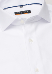 ETERNA LONG SLEEVE SHIRT SLIM FIT COOL SHIRT TWILL WHITE UNI
