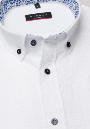 ETERNA HALF SLEEVE SHIRT MODERN FIT POPELINE WHITE UNI