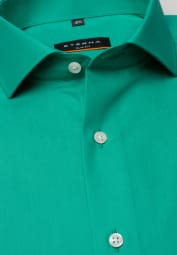 ETERNA LONG SLEEVE SHIRT SLIM FIT POPLIN GREEN UNI