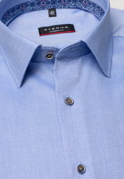 ETERNA LONG SLEEVE SHIRT MODERN FIT OXFORD BLUE UNI