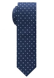 ETERNA TIE NAVY BLUE STRUCTURED