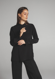 LONG SLEEVE BLOUSE 1863 BY ETERNA - PREMIUM BLACK UNI