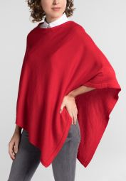 ETERNA KNIT PONCHO APPLE RED UNI