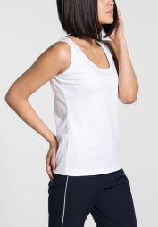 ETERNA TOP/ TANK TOP WHITE UNI