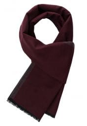 ETERNA SCARF BORDEAUX / DARK GRAY UNI