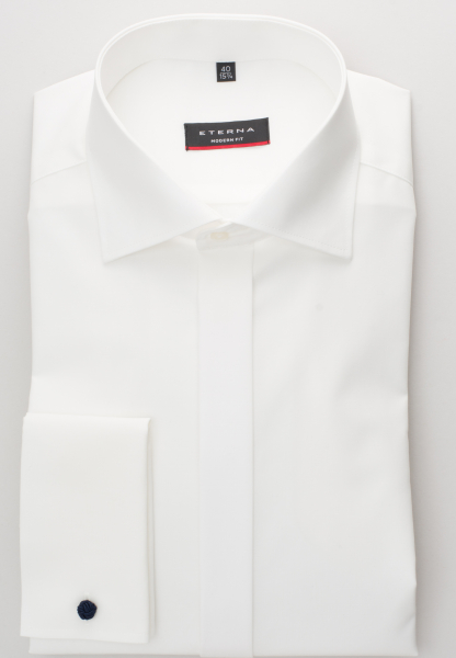 Eterna - long sleeve shirt modern fit - 5