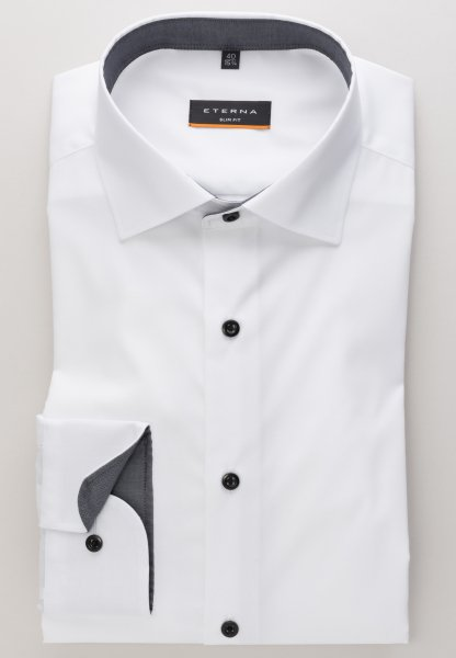 Eterna - long sleeve shirt slim fit - 5