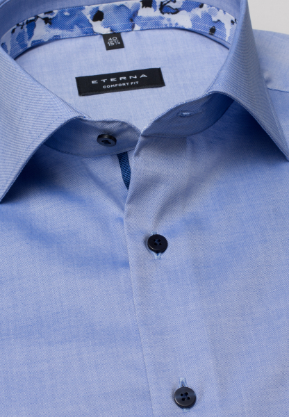 ETERNA LONG SLEEVE SHIRT COMFORT FIT PINPOINT SKY BLUE UNI