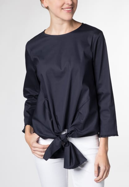 3/4 SLEEVE BLOUSE 1863 BY ETERNA - PREMIUM NAVY UNI