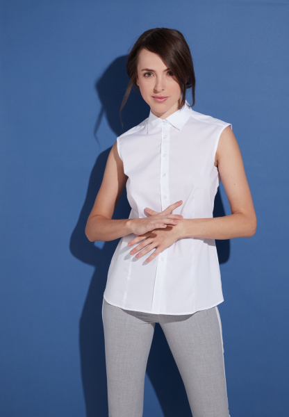 Eterna - without sleeves blouse - 1