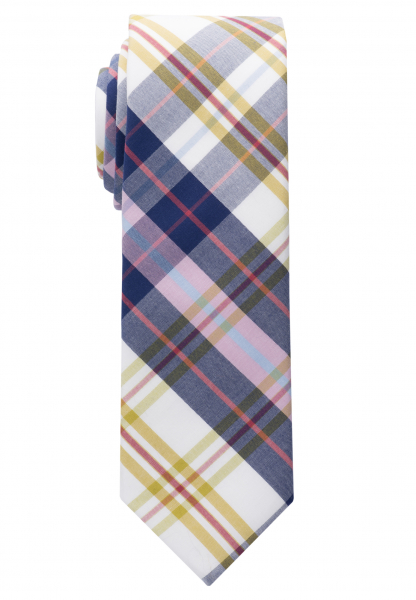ETERNA TIE BLUE/RED/GREEN CHECKED