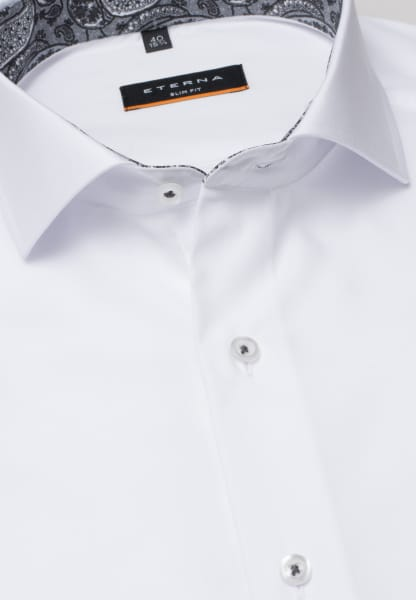 ETERNA SHIRT SLIM FIT PINPOINT WHITE UNI
