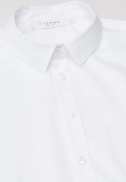 ETERNA WITHOUT SLEEVES BLOUSE SLIM FIT WHITE UNI