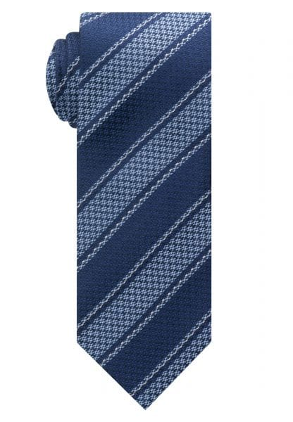 ETERNA TIE NAVY / LIGHT BLUE STRIPED