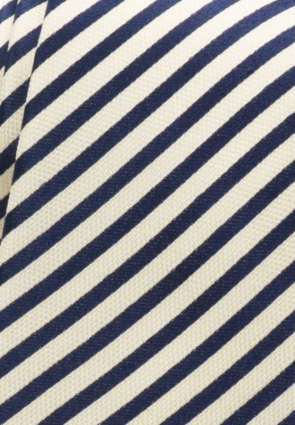 ETERNA TIE VANILLA / NAVY STRIPED