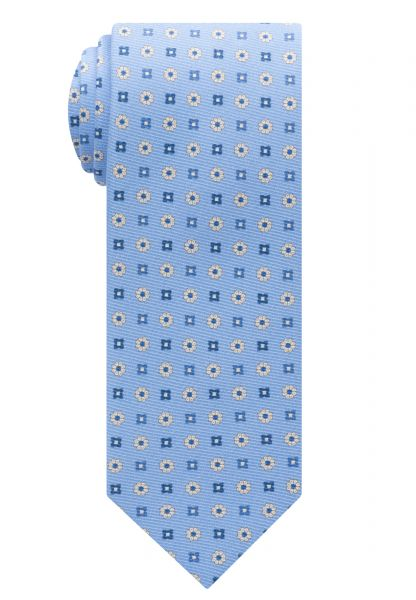 ETERNA TIE LIGHT BLUE PRINTED