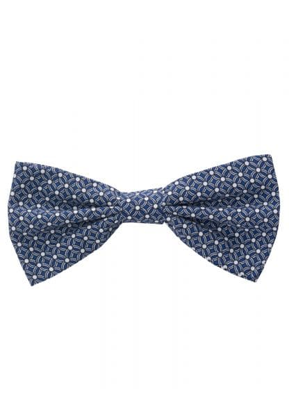 ETERNA BOW TIE BLUE/WHITE PRINTED