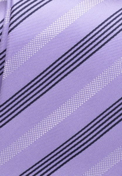 ETERNA TIE PURPLE/BEIGE STRIPED