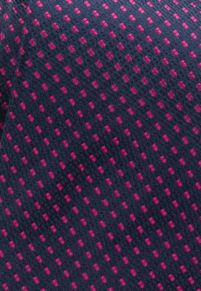 ETERNA TIE NAVY / PINK PATTERNED