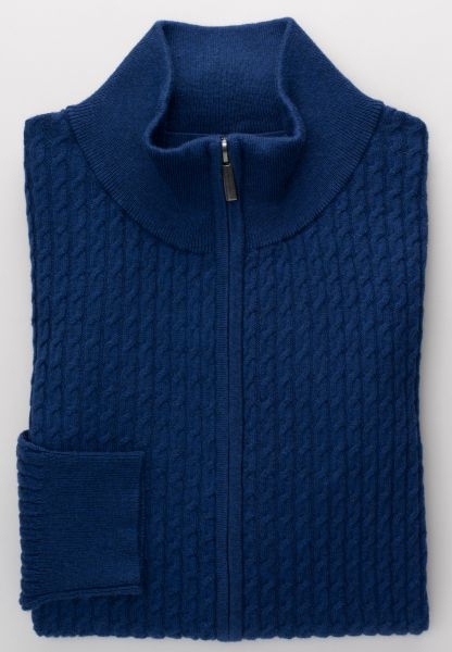 ETERNA KNIT CARDIGAN NAVY BLUE UNI