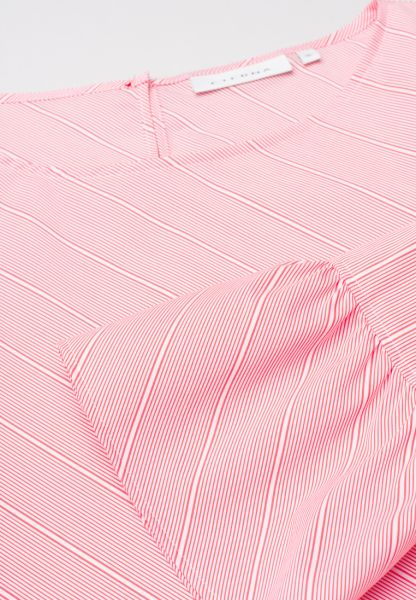 ETERNA 3/4 SLEEVE BLOUSE MODERN CLASSIC PINK / WHITE STRIPED