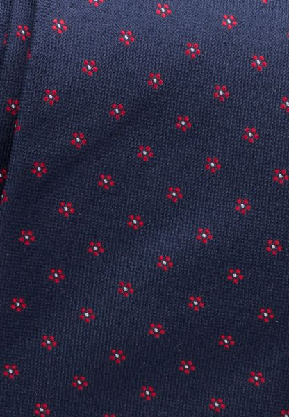 ETERNA TIE NAVY BLUE / RED PATTERNED