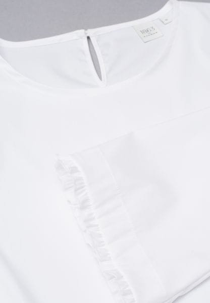 3/4 SLEEVE BLOUSE 1863 BY ETERNA - PREMIUM WHITE UNI
