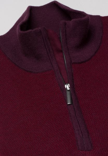 ETERNA KNIT TROYER BURGUNDY UNI