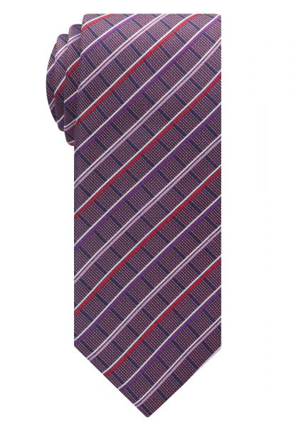 ETERNA TIE RED/BLUE CHECKED