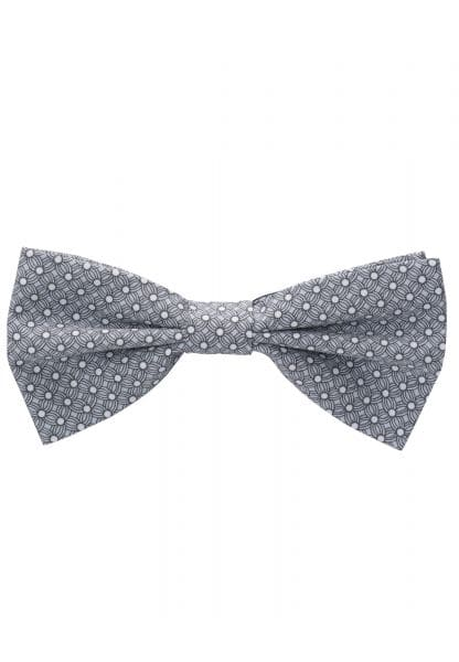 ETERNA BOW TIE GRAY / WHITE PRINTED