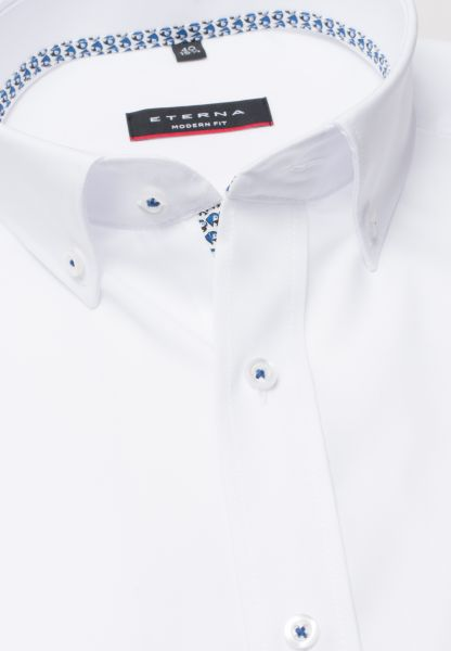 ETERNA SHIRT MODERN FIT POPLIN WHITE UNI